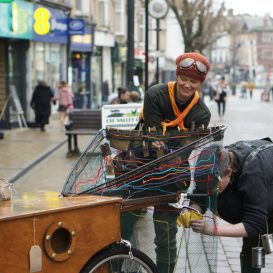 Fishing for Dreams in Paignton Town Centre