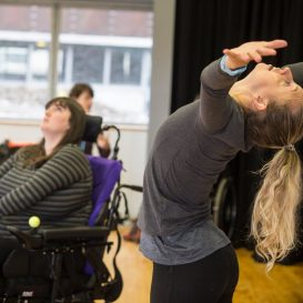 Flung Further- movement workshop